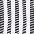 Tailored Fit English Fine Cotton Striped Shirt - bluemix