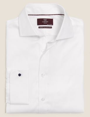 Regular Fit Easy Iron Twill Shirt