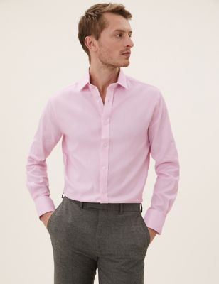 Tailored Fit Pure Cotton Shirt