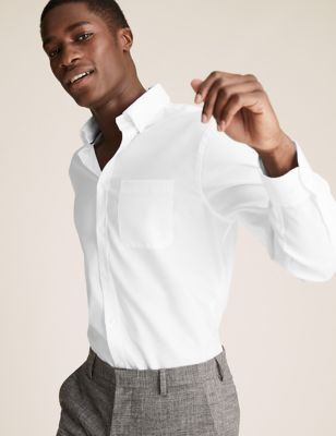 2 Pack Regular Fit Pure Cotton Shirts
