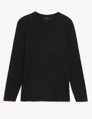 Premium Cotton Long Sleeve Vest