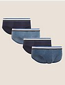 4pk Cotton Stretch Cool & Fresh™ Slips