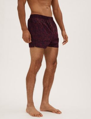 3 Pack Pure Cotton Woven Boxers