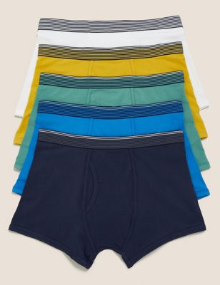 5pk Cotton Cool & Fresh™ Ombre Trunks with Stretch