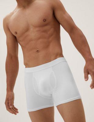 3pk Premium Cotton Supersoft Trunks