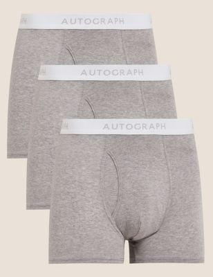 3pk Premium Cotton Trunks