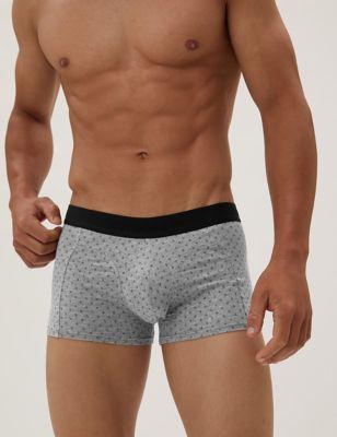 3pk Premium Cotton Geometric Hipsters