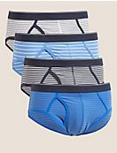 4pk Cotton Stretch Cool & Fresh™ Briefs