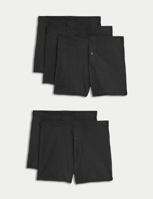 5pk Cotton Trunks