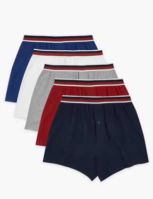 5pk Pure Cotton Cool & Fresh™ Jersey Boxers