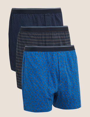 3pk Pure Cotton Cool & Fresh™ Boxers