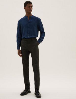 Black Skinny Fit Trousers