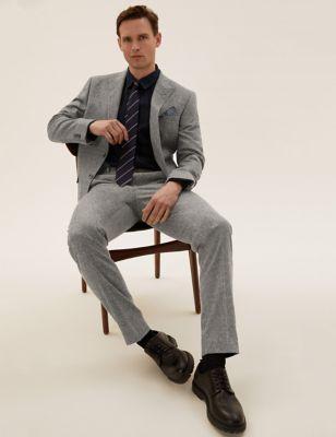 Tailored Fit Italian Wool Jacket