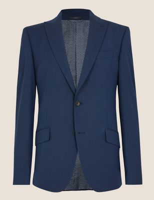 Big & Tall Regular Fit Jacket with Stretch