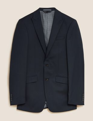 Slim Fit Jacket with Stretch