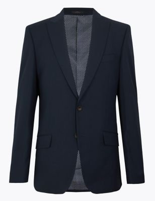 Regular Fit Jacket with Stretch