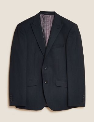 Big & Tall Charcoal Tailored Fit Jacket