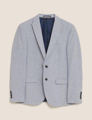 Skinny Fit Jacket with Stretch