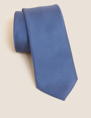 Slim Plain Tie