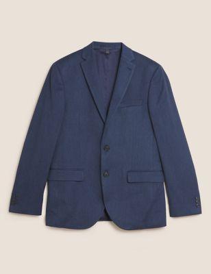 Slim Fit Textured Jacket