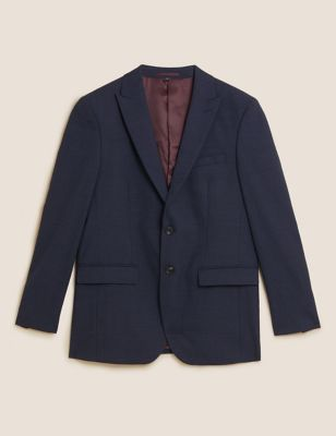 Tailored Fit Textured Jacket
