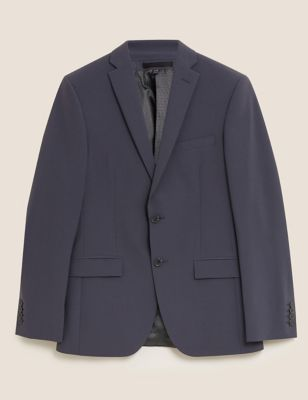 The Ultimate Charcoal Slim Fit Wool Jacket