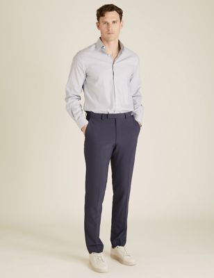 The Ultimate Charcoal Slim Fit Trousers