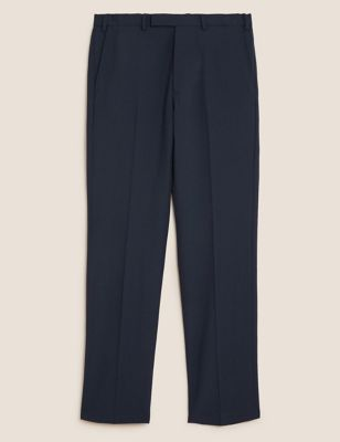 The Ultimate Navy Regular Fit Trousers