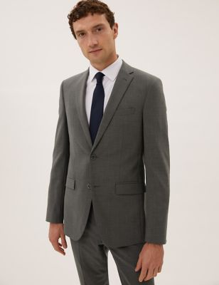 The Ultimate Charcoal Tailored Fit Jacket