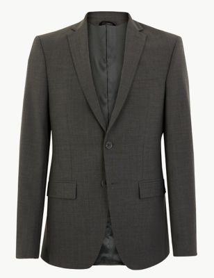 Big & Tall Tailored Fit Wool Jacket