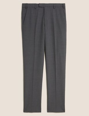 The Ultimate Charcoal Tailored Fit Trousers