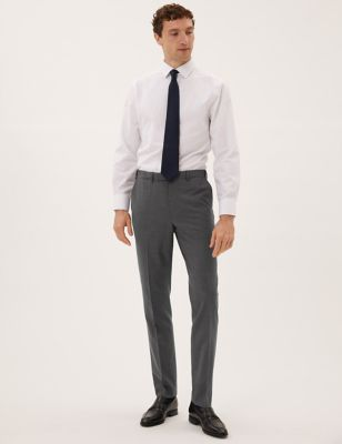 Big & Tall Tailored Fit Wool Trousers