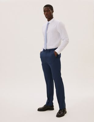 The Ultimate Blue Regular Fit Trousers