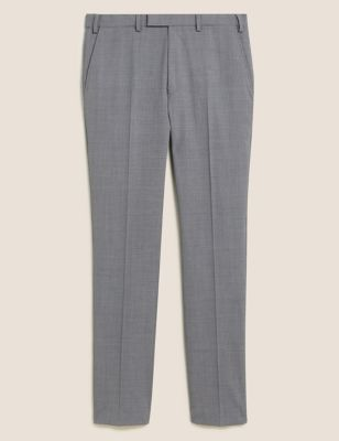 The Ultimate Grey Slim Fit Trousers