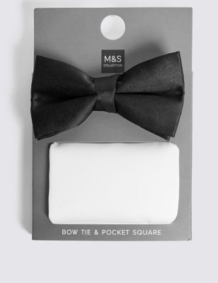 Bow Tie & Pocket Square Set