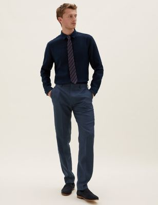 Tailored Italian Linen Miracle™ Trousers