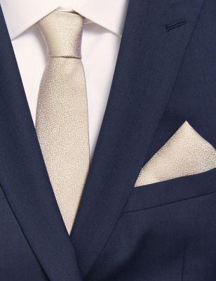 Pure Silk Tie & Pocket Square Set