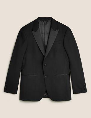 Regular Fit Pure Wool Dinner Jacket