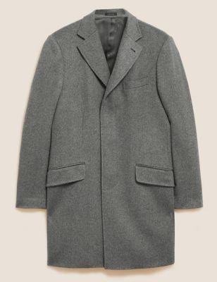 Cashmere Longline Overcoat