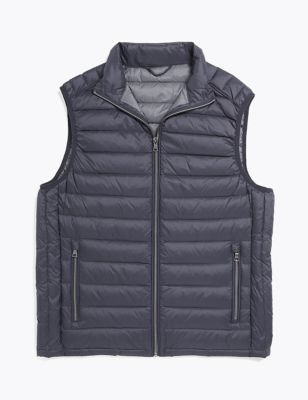 Feather & Down Padded Gilet with Stormwear™