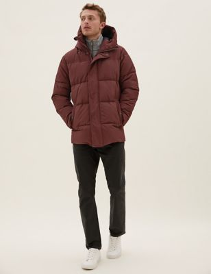 Hooded Puffer Jacket with Thermowarmth™