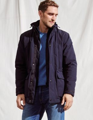 Double Collar Technical Jacket with Stormwear™