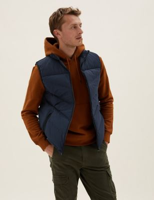 Feather & Down Gilet with Stormwear™