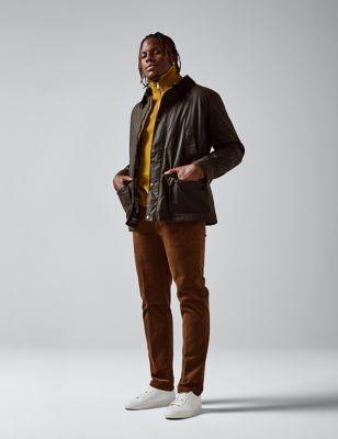 Cotton Wax Parka Jacket with Stormwear™