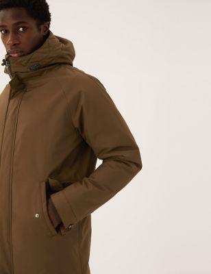 Borg Lined Parka Jacket with Stormwear™