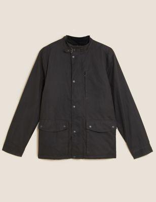 Pure Cotton Parka Jacket with Stormwear™