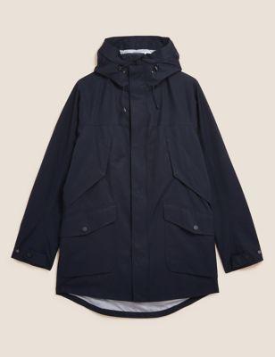 Cotton Technical Mac with Stormwear™