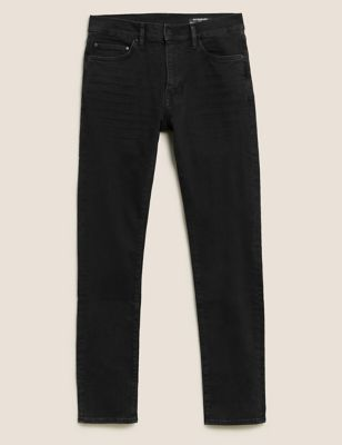 Slim Fit Organic Cotton Italian Jeans