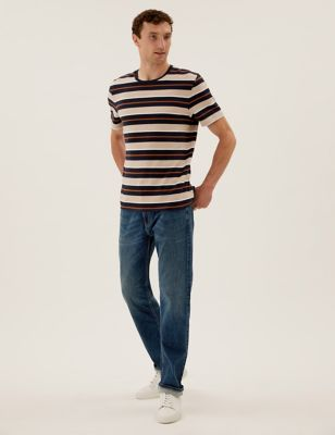 Straight Fit Super Stretch Performance Jeans
