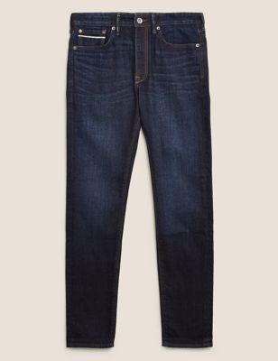 Slim Fit Japanese Selvedge Stretch Jeans